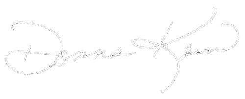 Donna Korn Signature